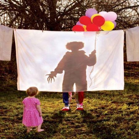 Foto de Krueger, en una de sus labores, animar fiestas infantiles
